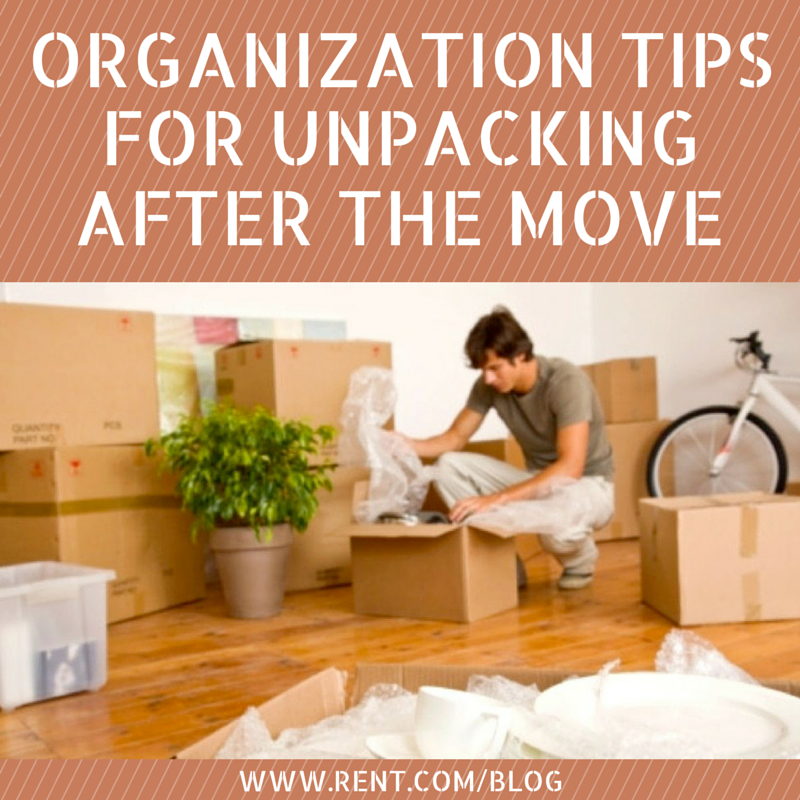 Organization Tips for Unpacking After the Move