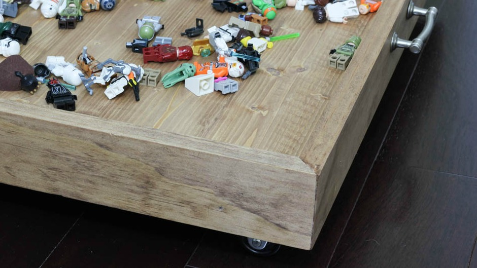How to Build an Under the Bed Storage Tray