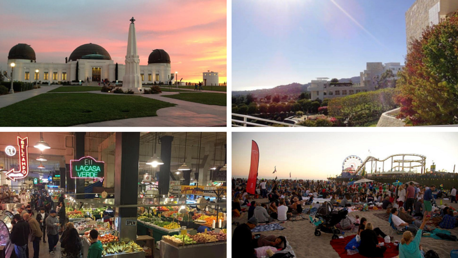 4 (Almost) Free Things to Do in LA