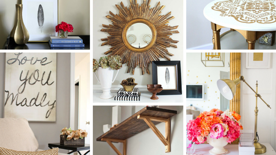 Apartment Decorating with Gold