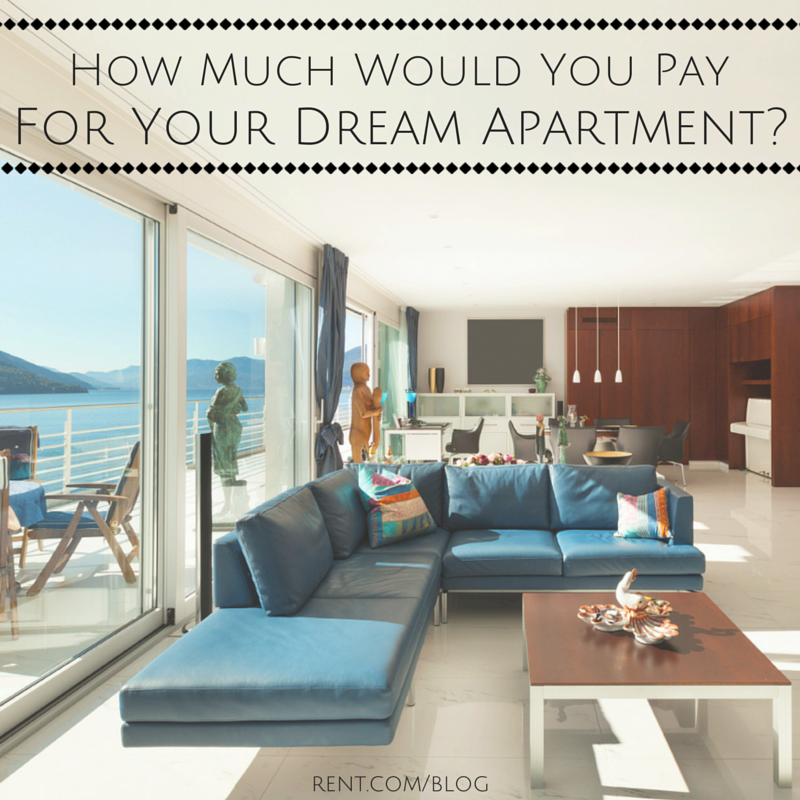 How Much Would You Pay For Your Dream Apartment-
