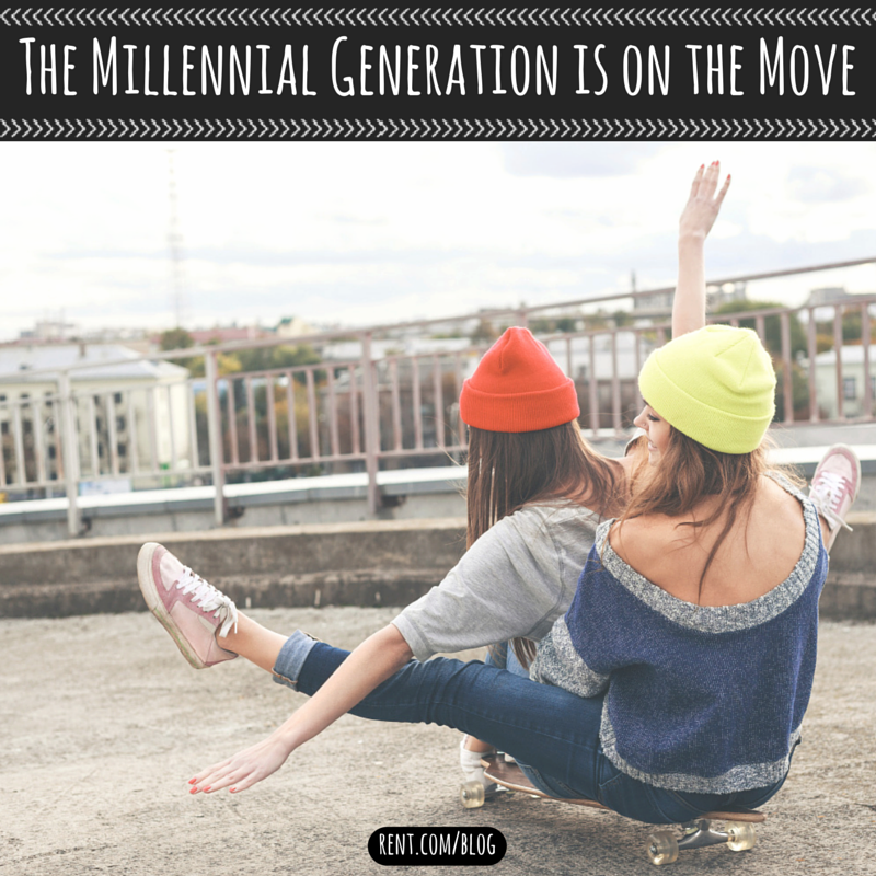 The Millennial Generation is on the Move