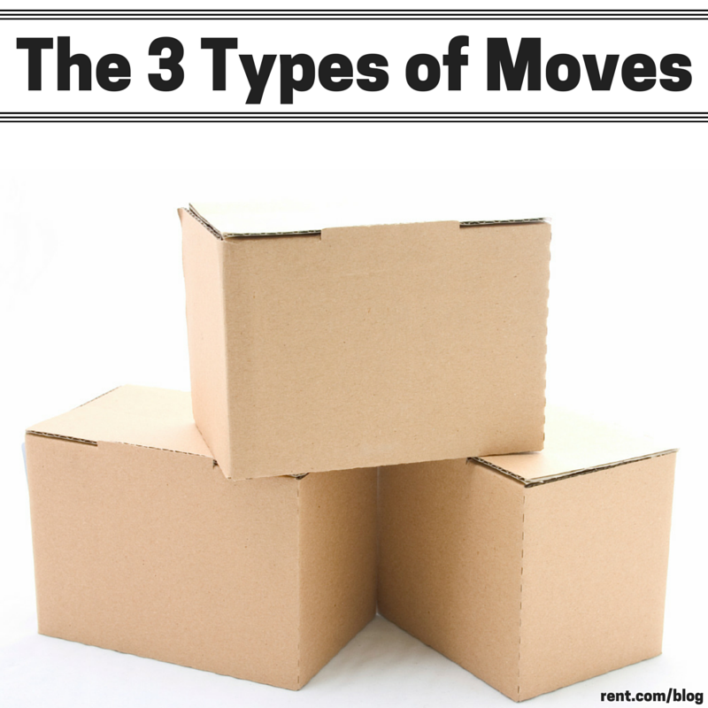 Moving Tips- The 3 Types of Moves