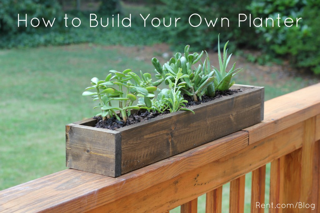 apartment diy build your own planter box blog