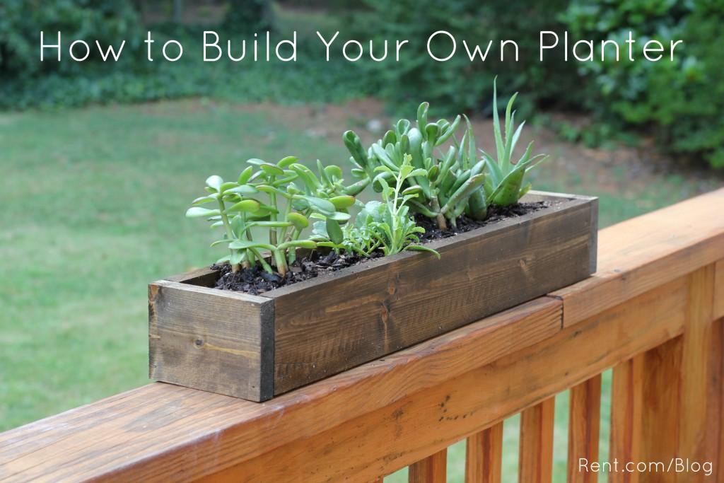 Apartment Diy Build Your Own Planter Box