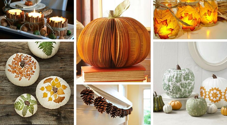 10 Classy Fall Crafts