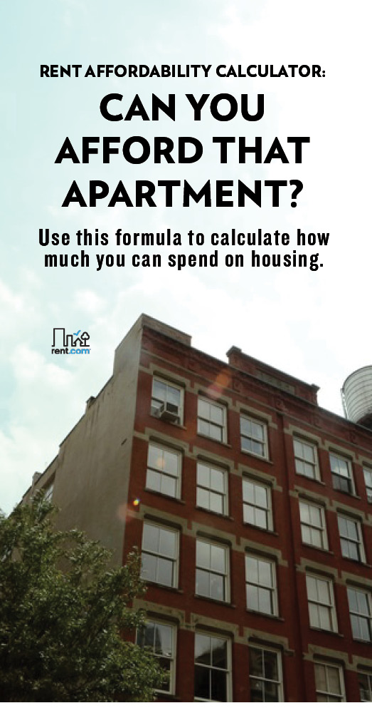 how much rent can you afford?