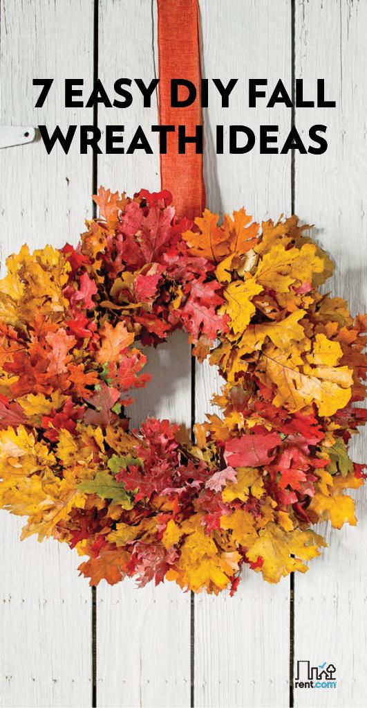 7 Diy Fall Wreath Ideas To Make Rent Blog