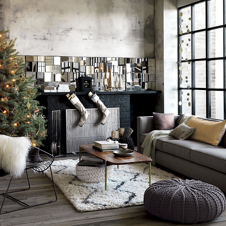 apartment decorating trends: metallics for winter - rent blog