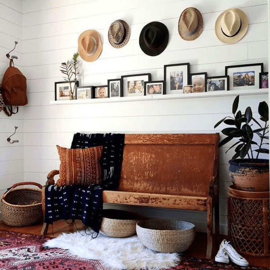 DIY decor hats