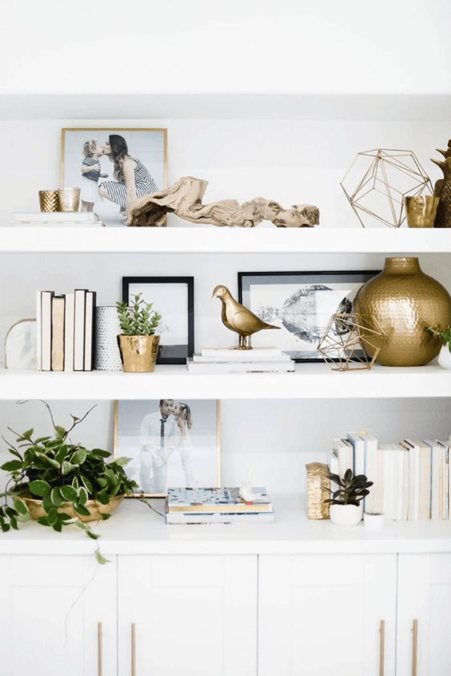 DIY decor gold