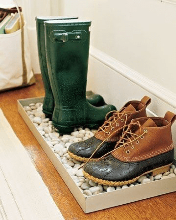 DIY Decor shoe storage