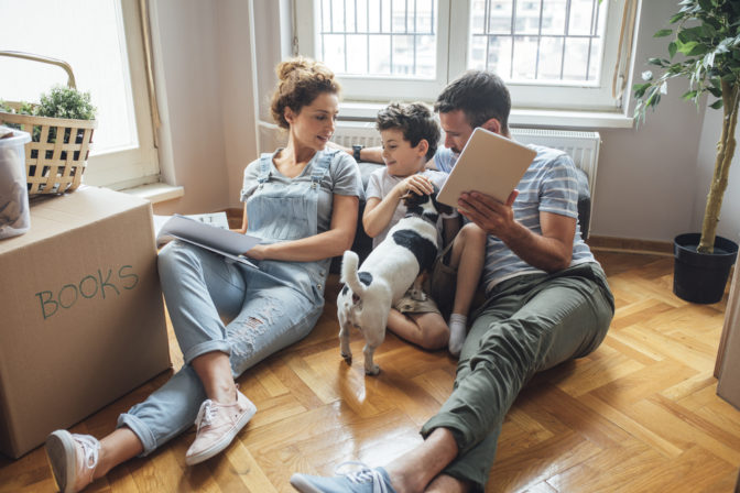 downsizing with children