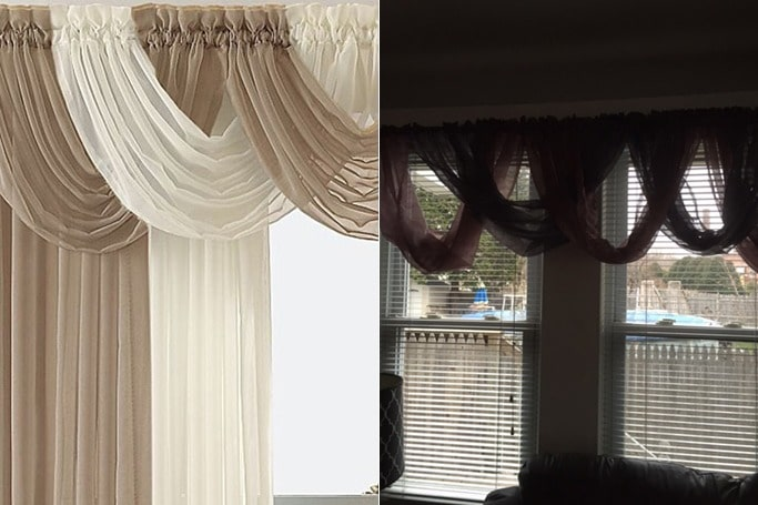 waterfall curtains