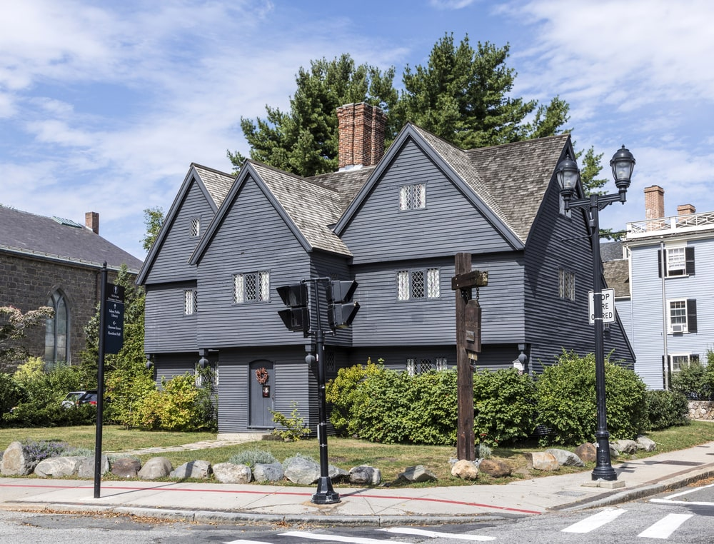 Salem Massachusetts Witch House
