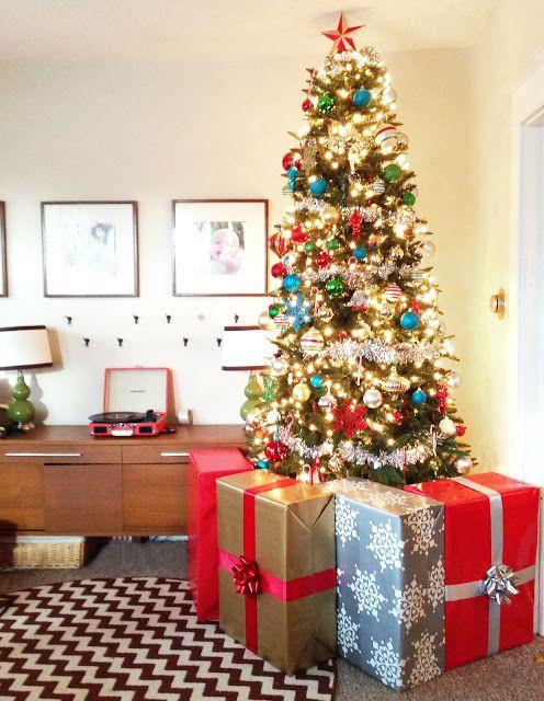 fake presents blocking tree