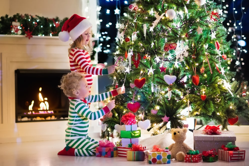 How to Keep Your Christmas Tree Safe from Toddlers