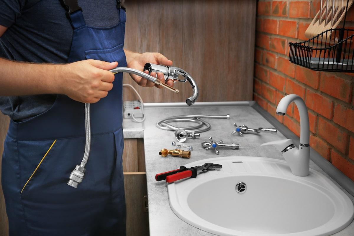 kitchen sink hose