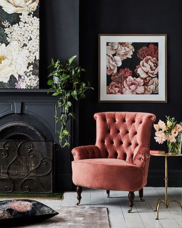 living coral chair