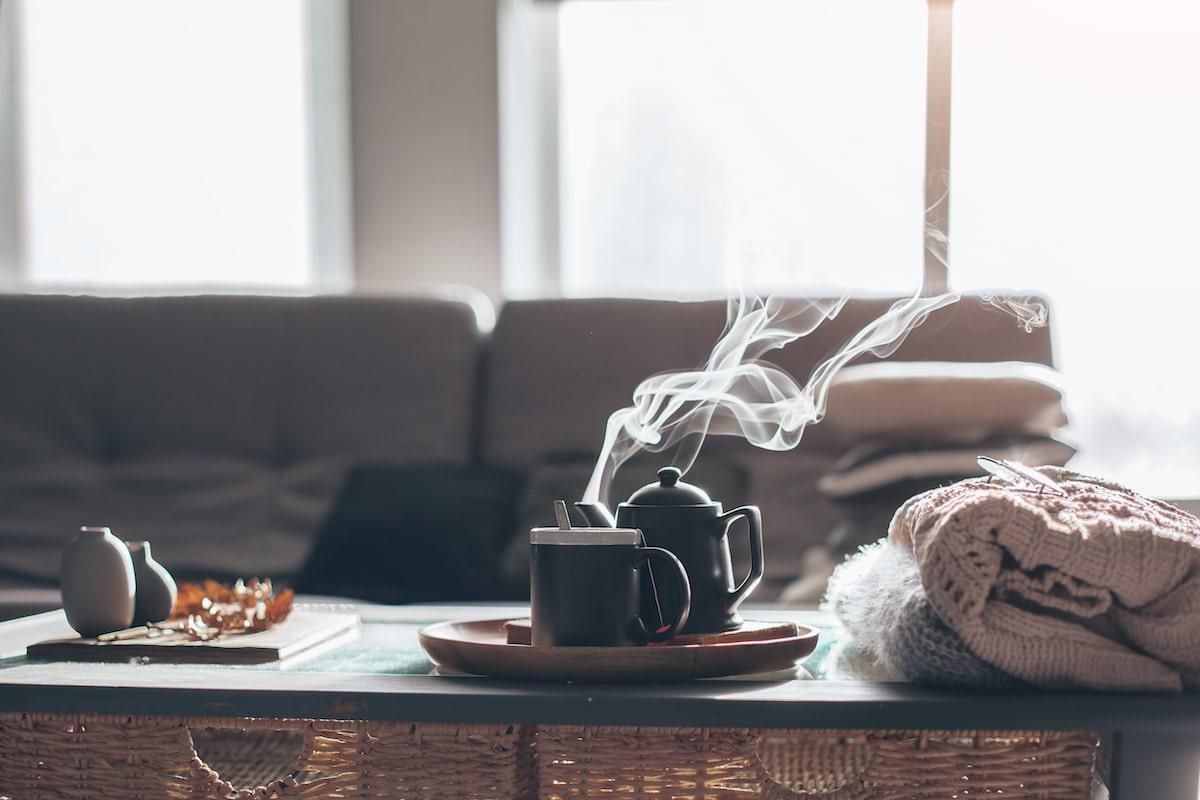 living area hygge