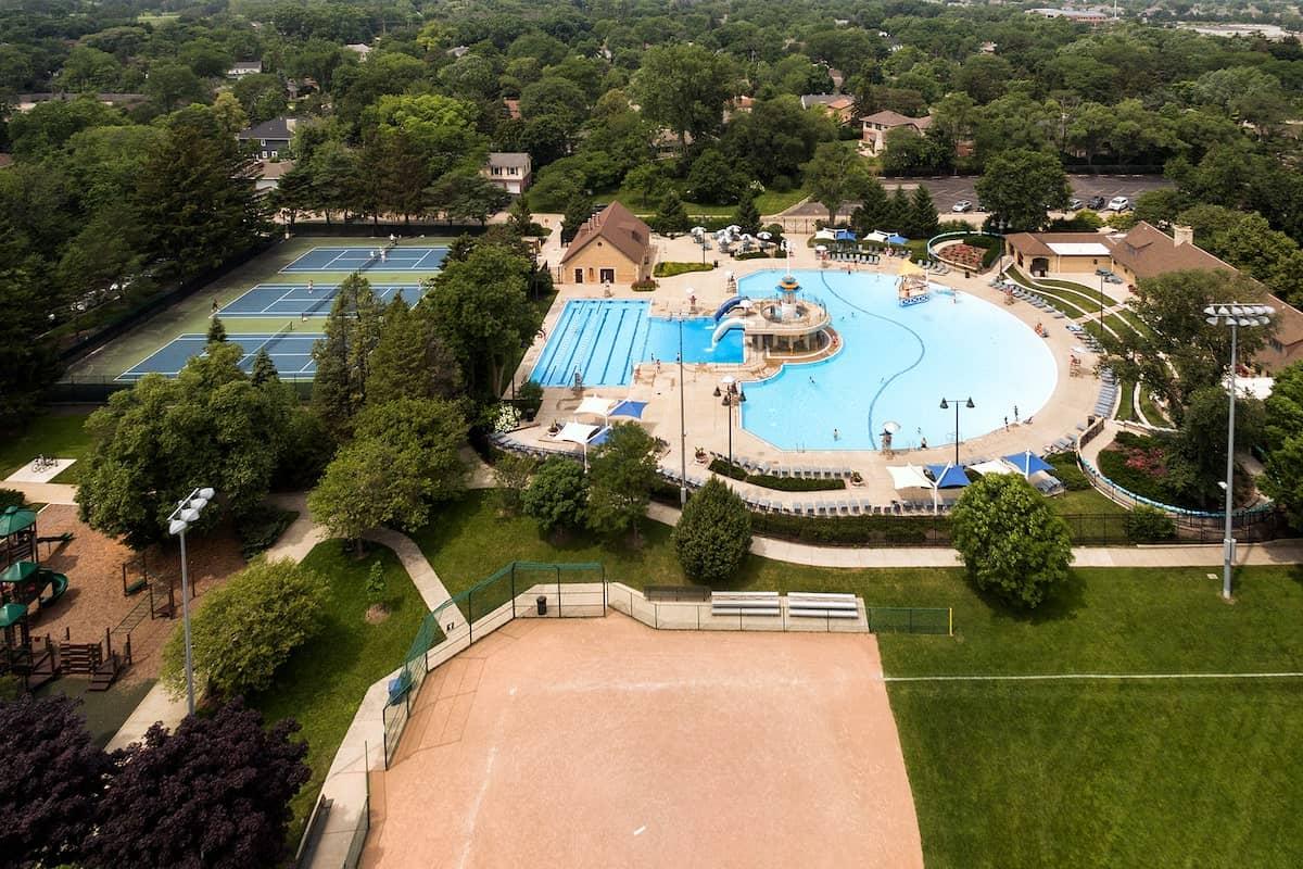 community pools