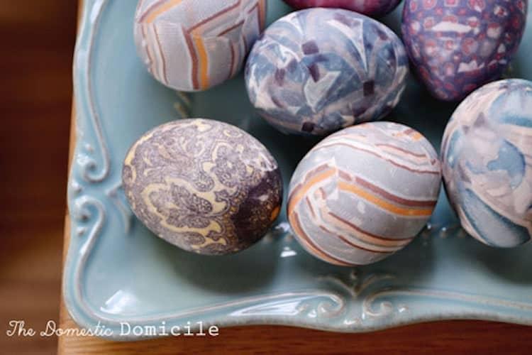silk transfer eggs