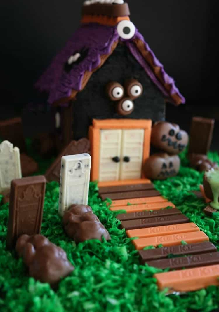 Haunted candy houses