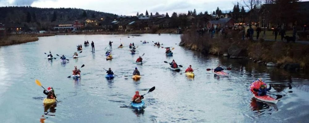 Winter Paddle Parade