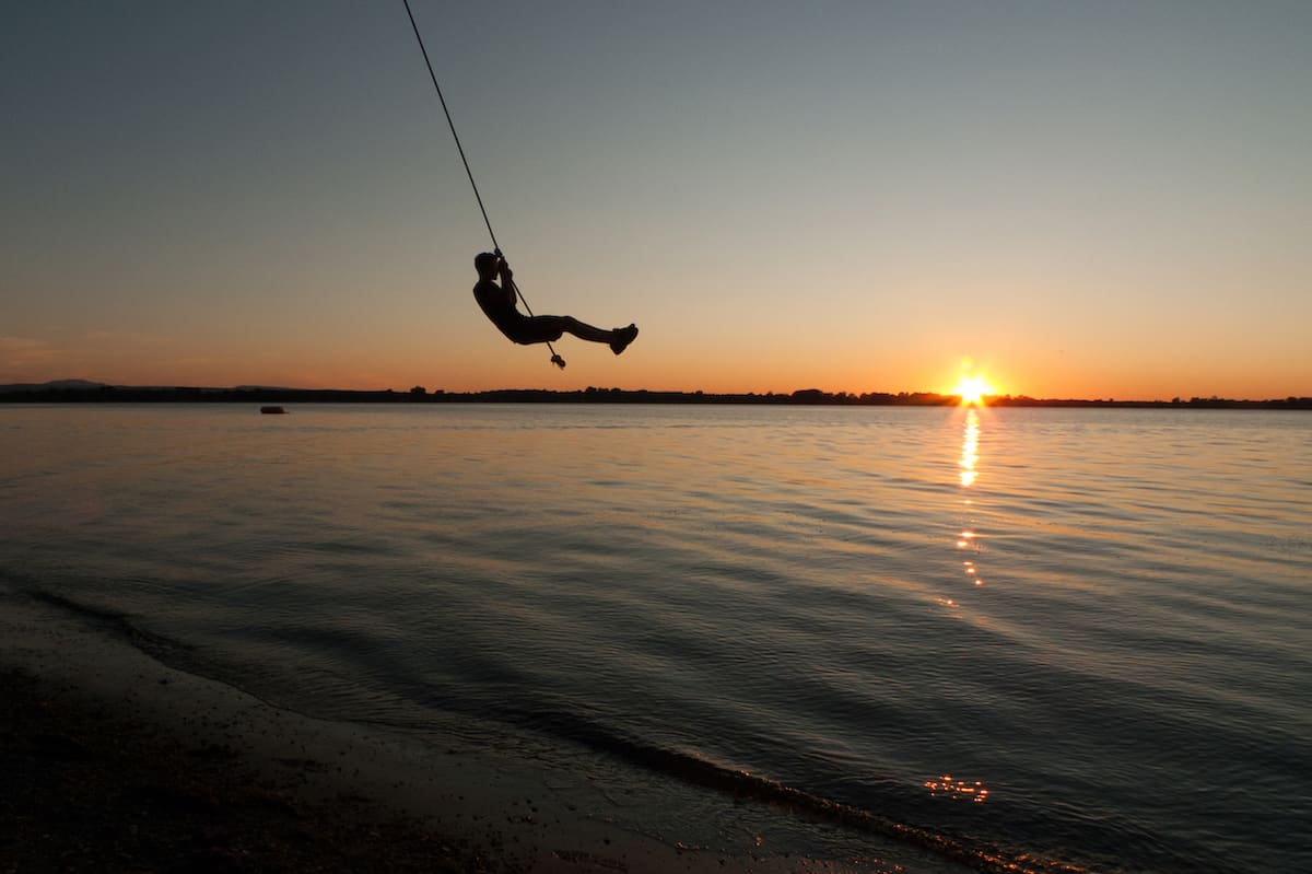 rope swing in vermont