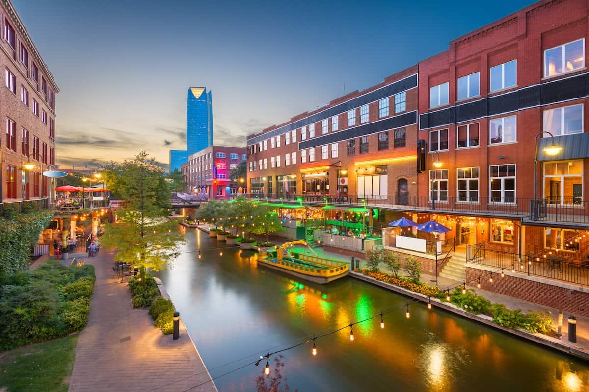 downtown oklahoma city