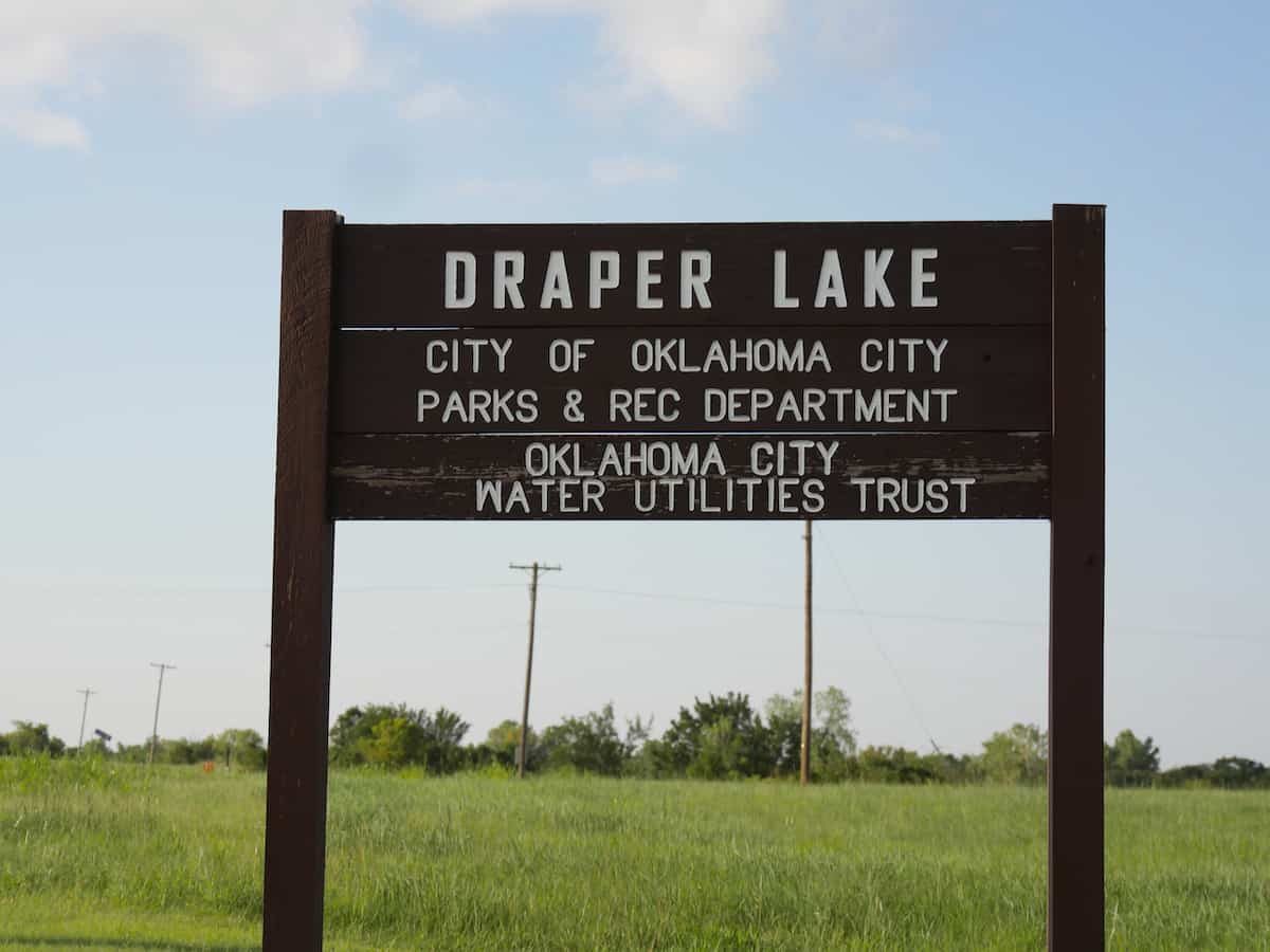 oklahoma city draper lake
