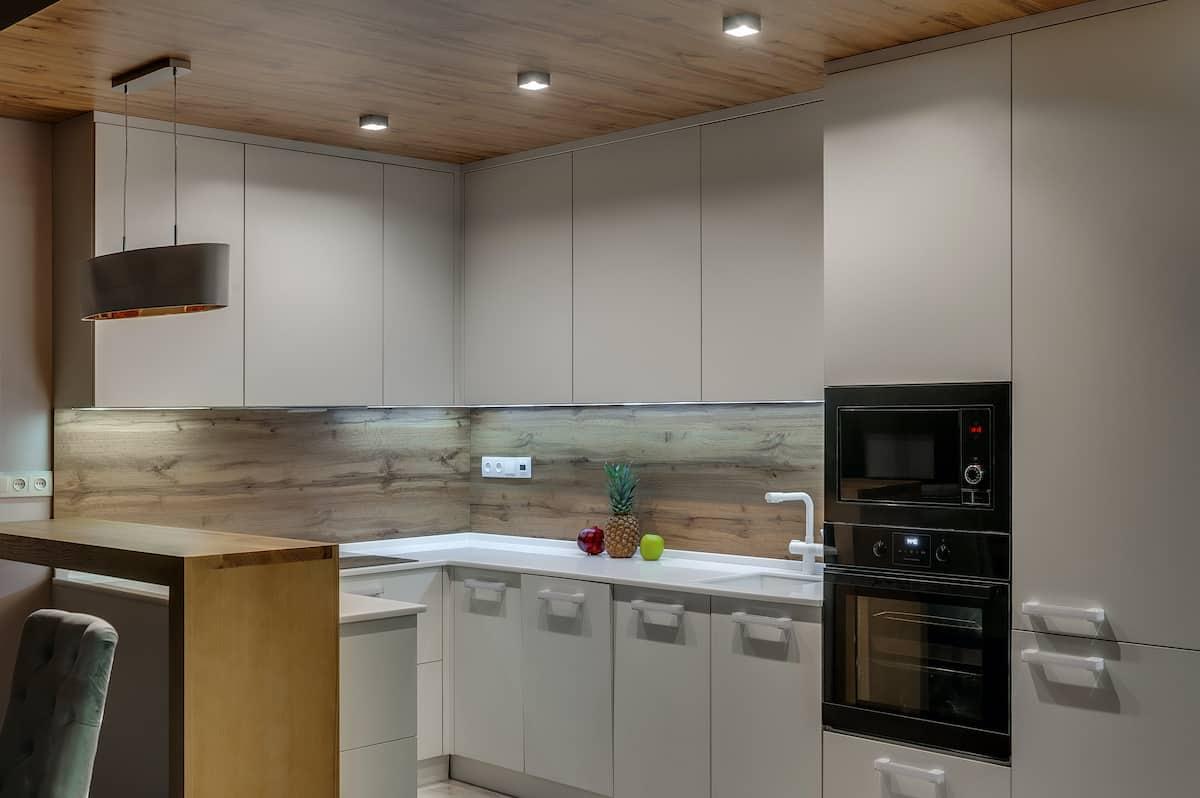 kitchen accent ceiling