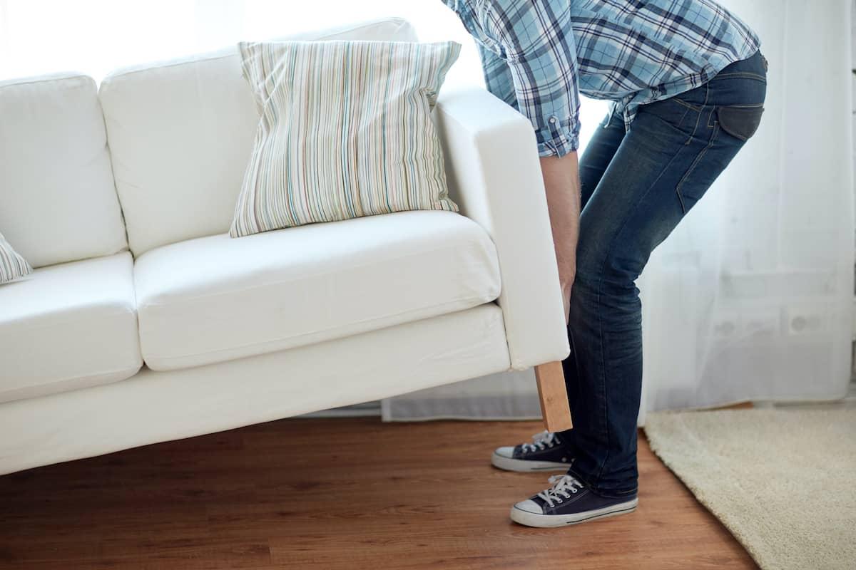 meubles en mouvement