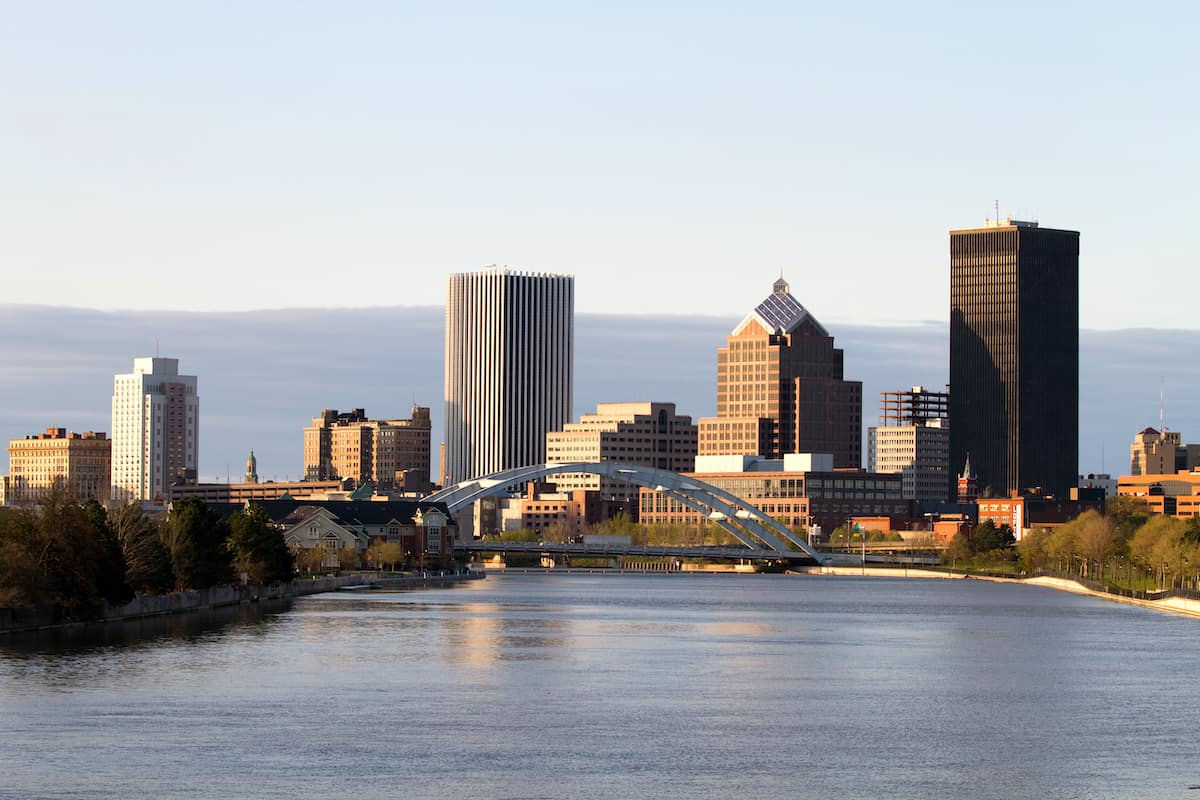 Rochester, NY rent to income ratio