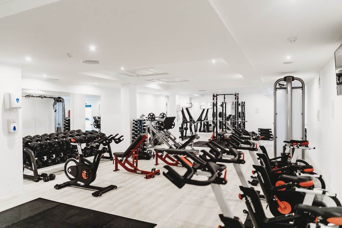 gym luxury amenities