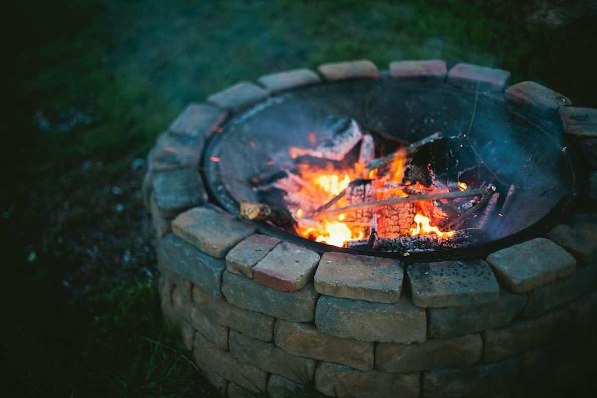 firepit fire how to build a firepit