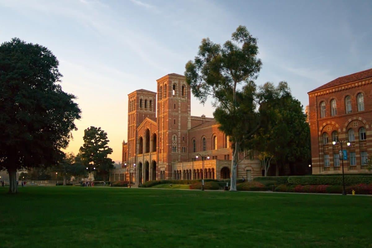UCLA in westwood los angeles