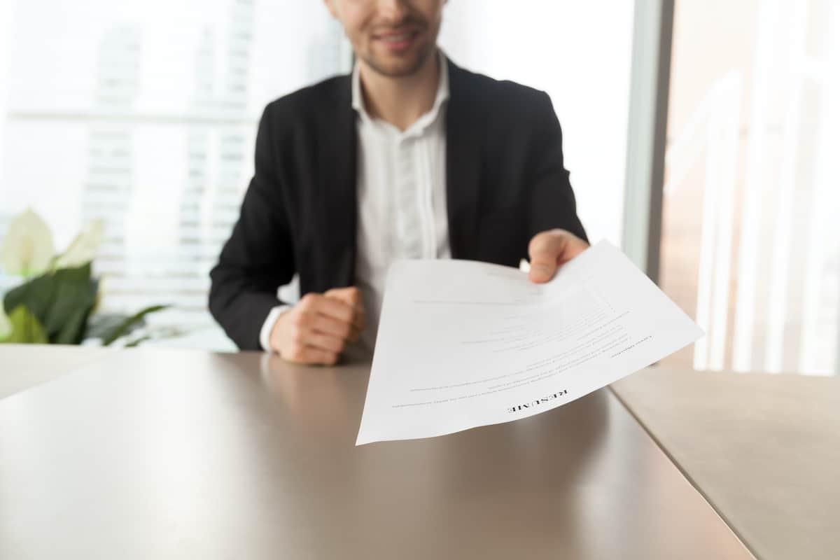 renter resume