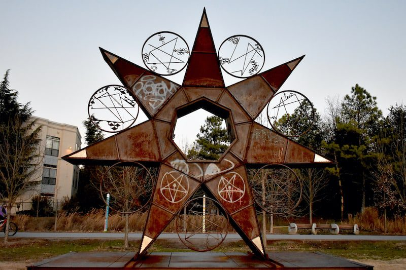 atlanta beltline star art