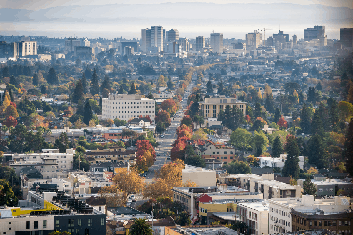 Oakland, CA, one of the best places to live in california