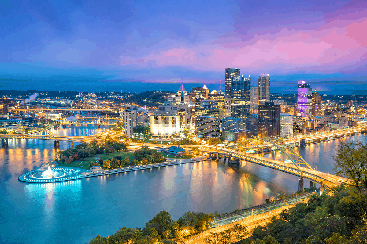Pittsburgh, PA, one of the best places to live in pennsylvania
