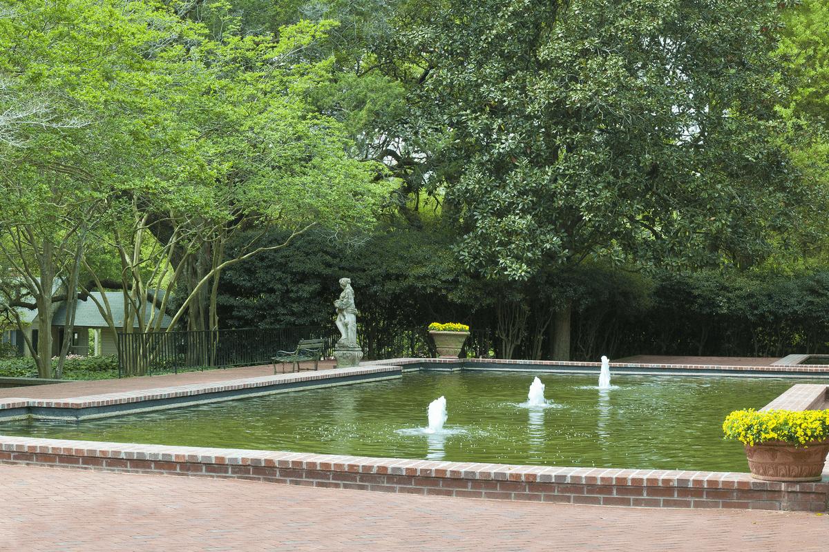 Fountain in Aiken, SC.