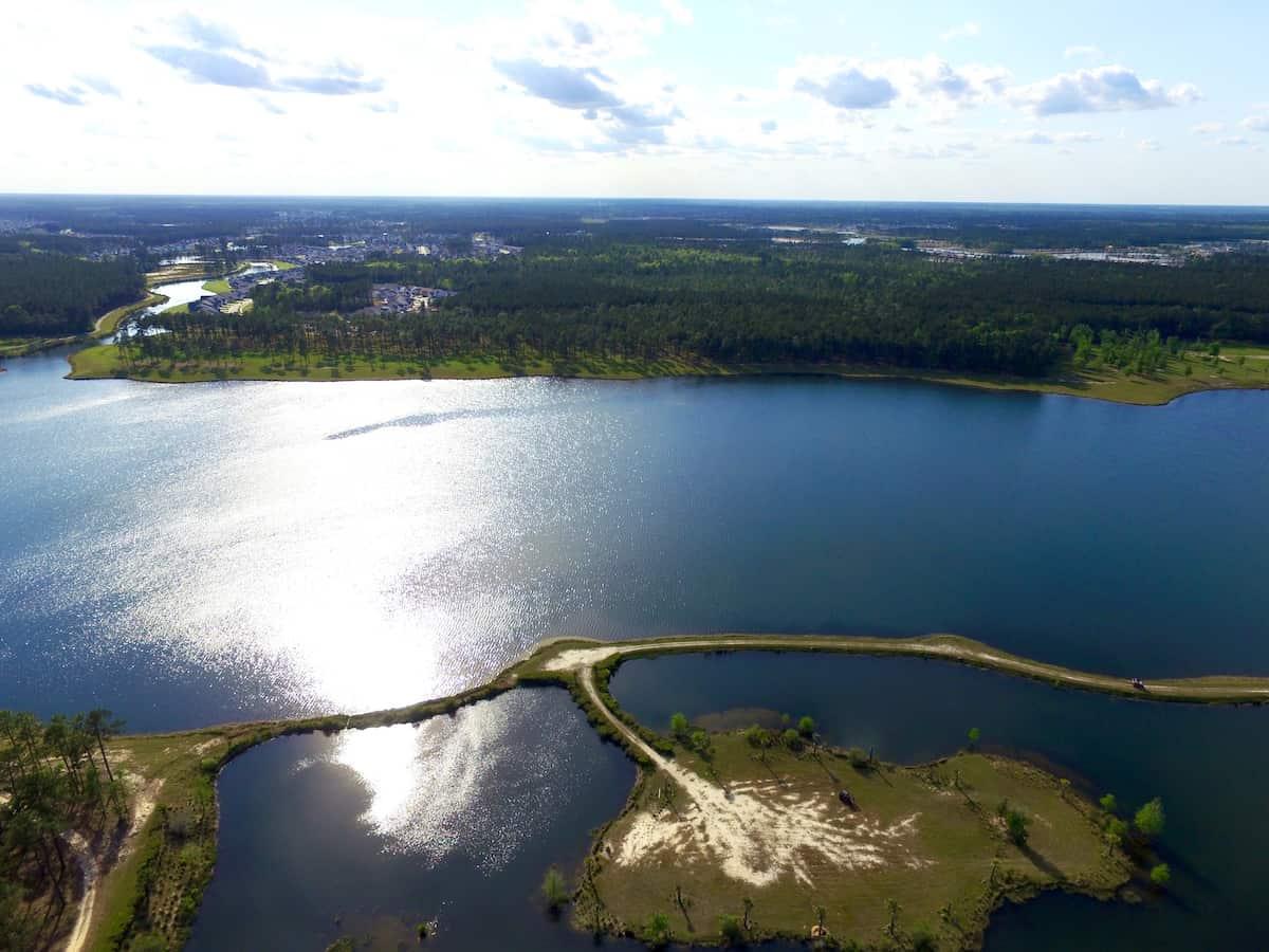 River view of Summerville, SC.
