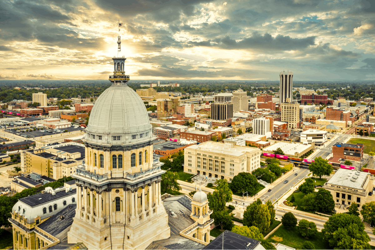 Springfield, IL, one of the best places to live in illinois