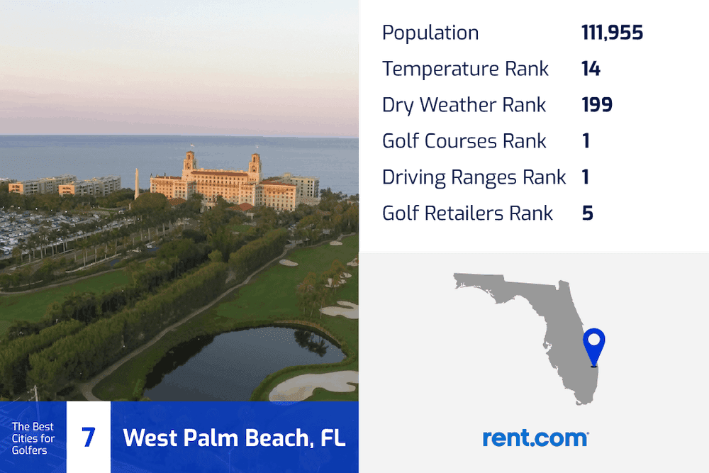 west palm beach florida, one of the best golf cities