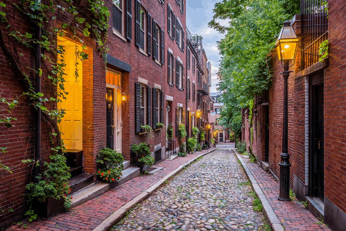 Boston street.