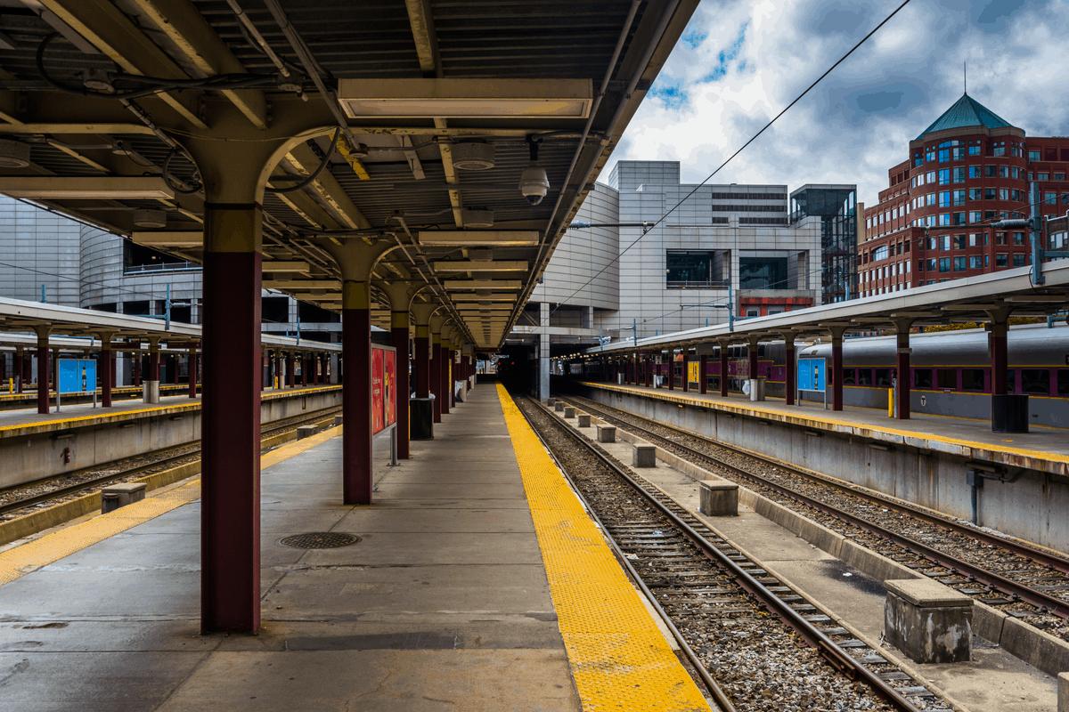 Transportation in Boston.