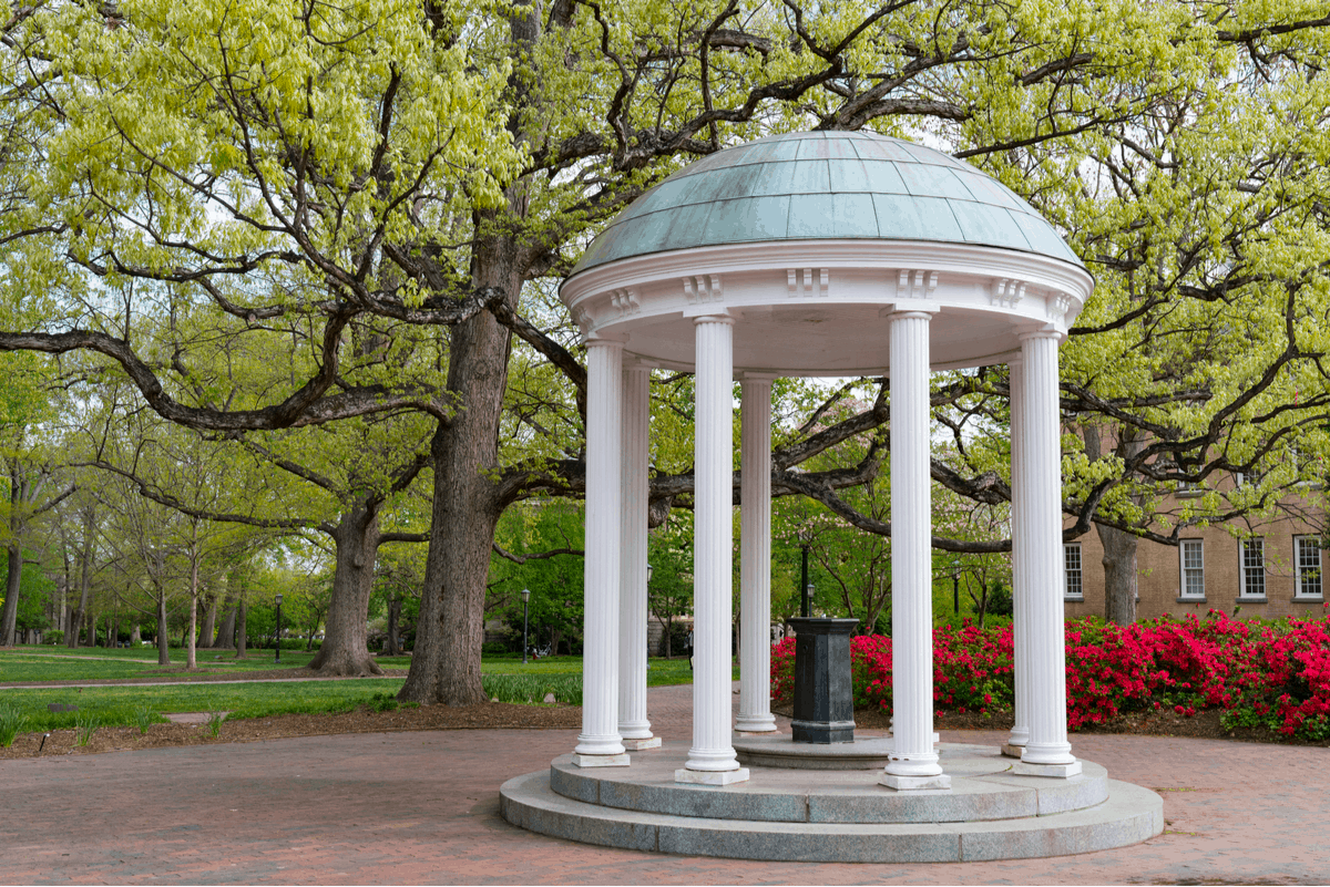 Chapel Hill, one of the cheapest places to live in North Carolina