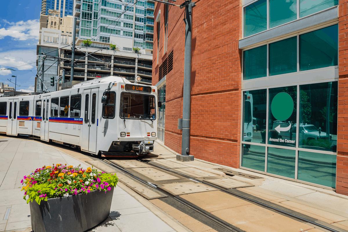 Transportation in Denver.