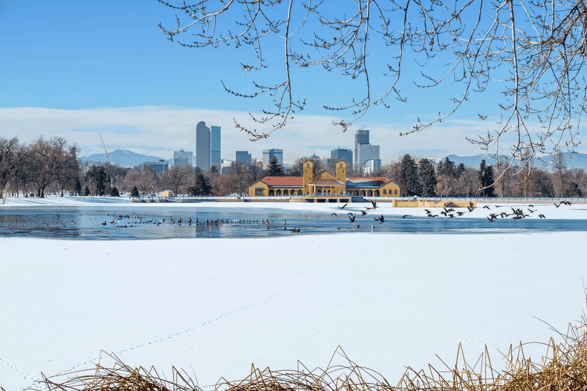 Denver winter.